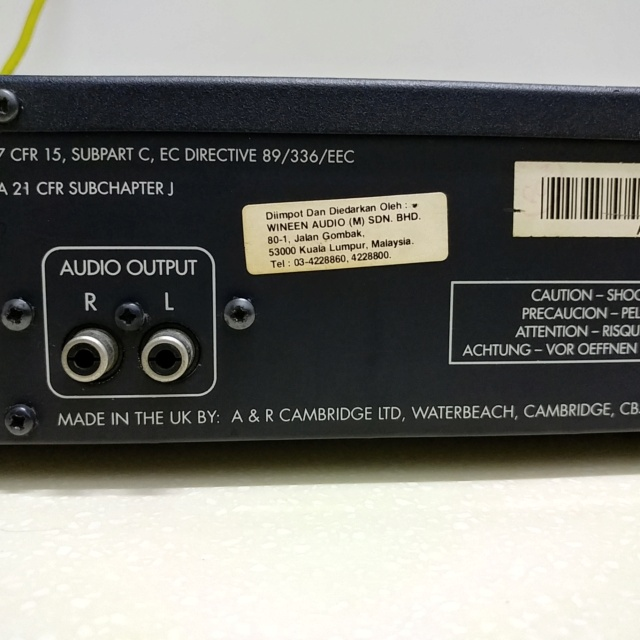 Arcam Alpha ONE British CD Player with remote 20201034