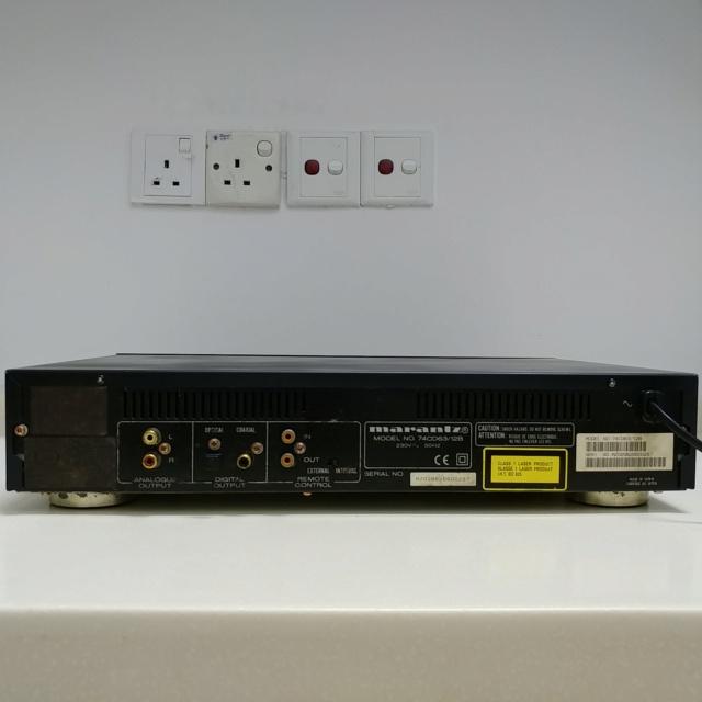 Marantz CD-63SE Special Edition Stereo CD Player  20201055
