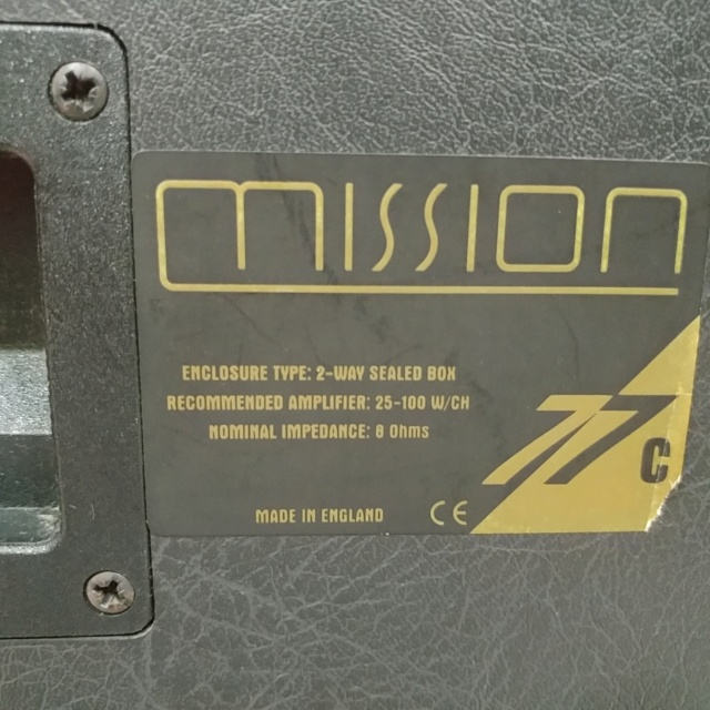 Mission 77C Center Speaker 20201236