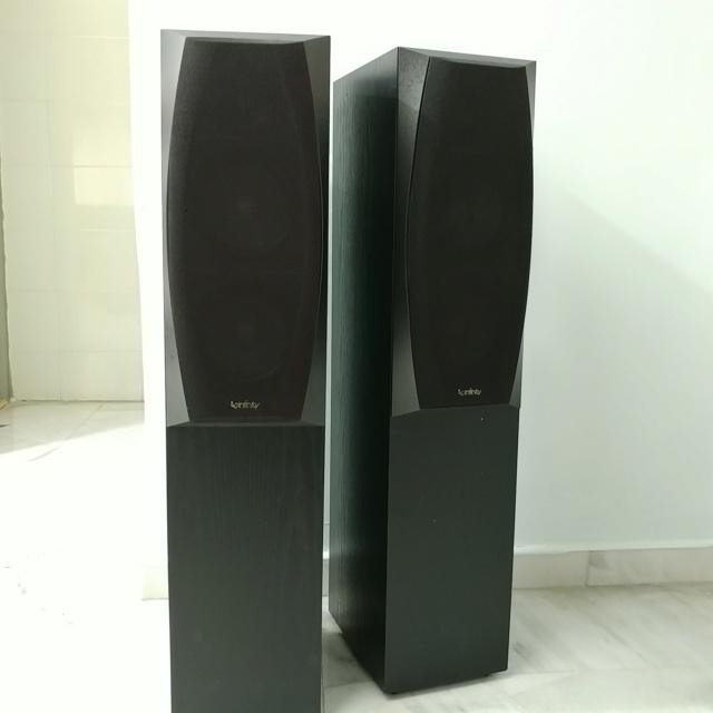 Infinity ENTRA Three Stereo Floorstanding Speaker 20210112