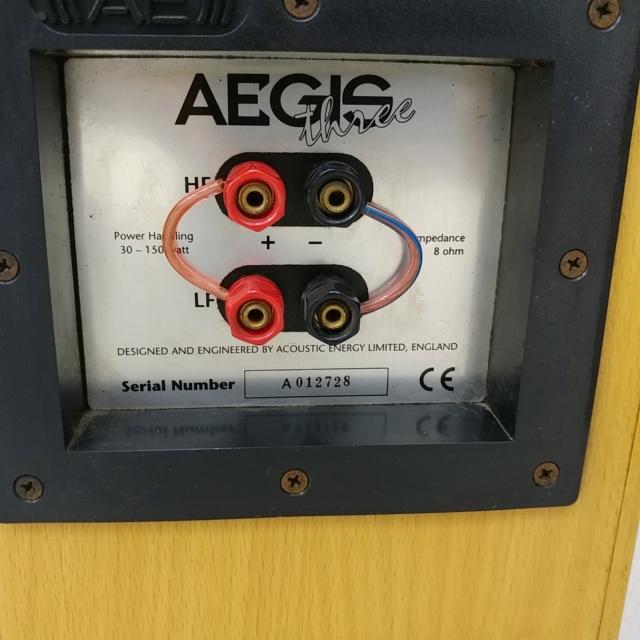 Acoustic Energy AE Aegis 3 floorstand 3 Ways Speaker 20210315