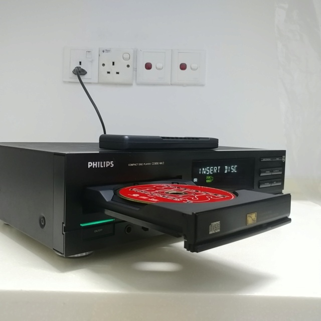 Philips CD-850 MKII CD Player with Remote 20210410