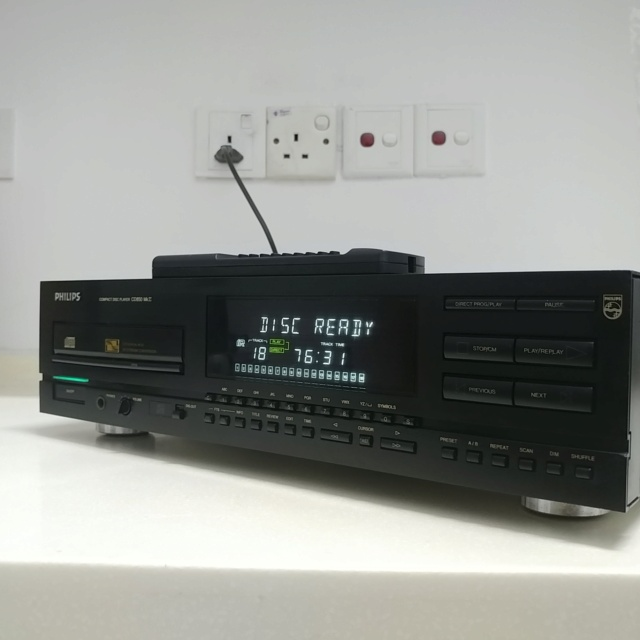 Philips CD-850 MKII CD Player with Remote 20210413