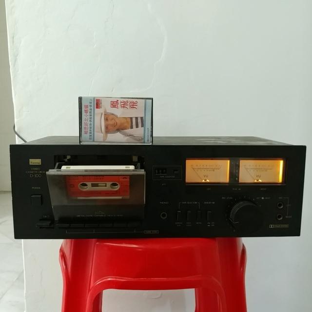 Sansui D-100 Stereo Cassette Tape Deck Player 20210424