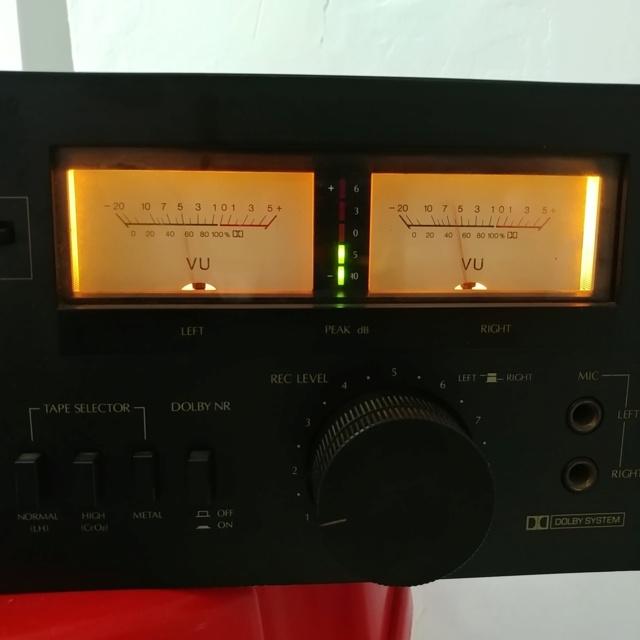 Sansui D-100 Stereo Cassette Tape Deck Player 20210428