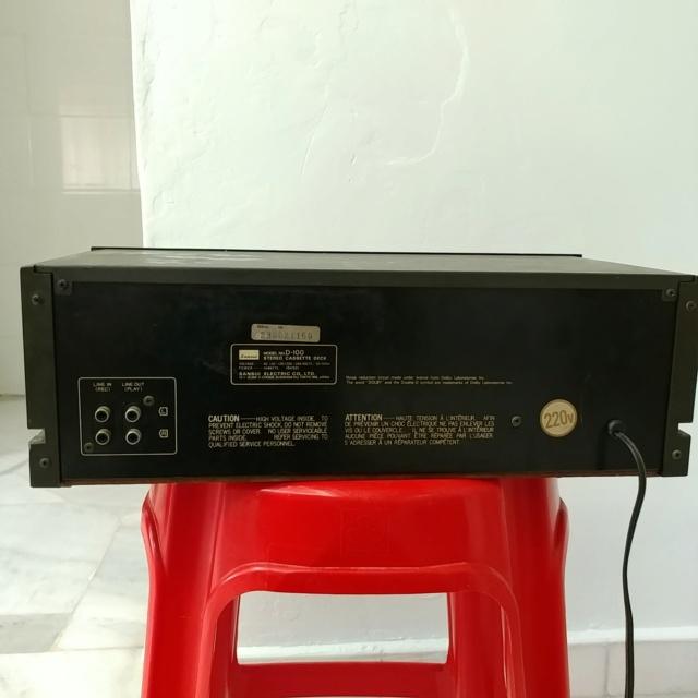 Sansui D-100 Stereo Cassette Tape Deck Player 20210429
