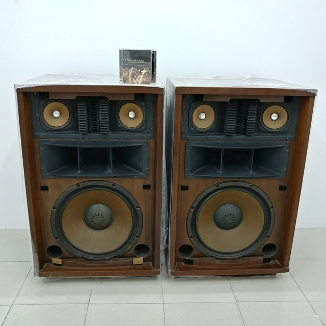 Sansui SP5500 Top Of The Line 15 inch Stereo Speaker 20210431