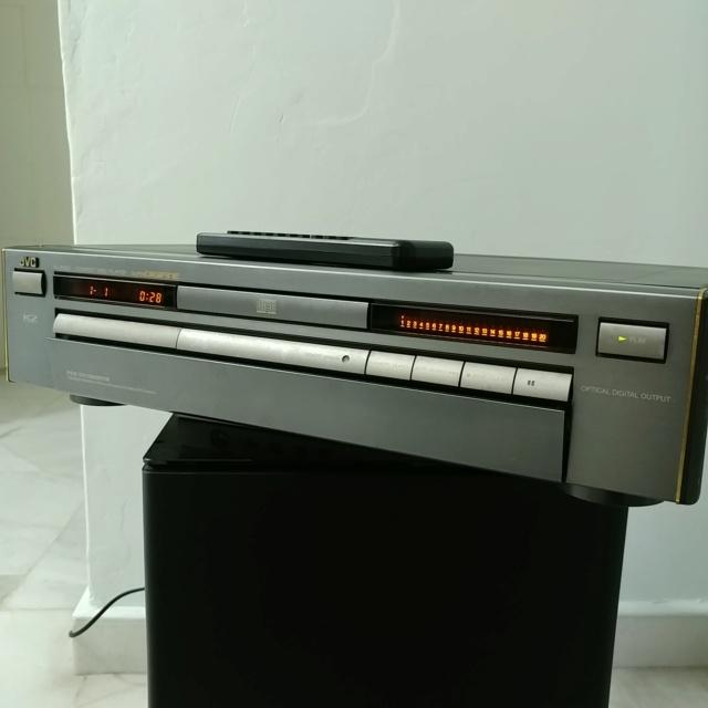 JVC XL-Z1050 Stereo Japan K2 CD Player with remote 20210456