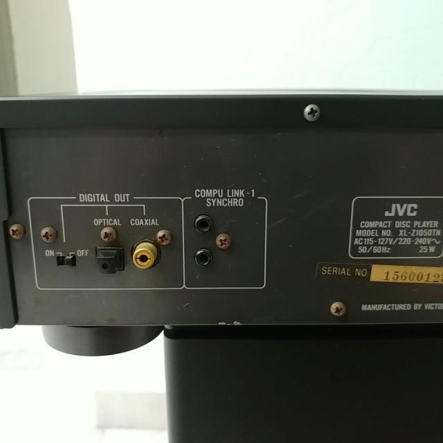 JVC XL-Z1050 Stereo Japan K2 CD Player with remote 20210458