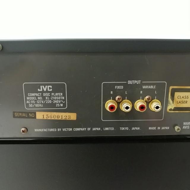JVC XL-Z1050 Stereo Japan K2 CD Player with remote 20210459
