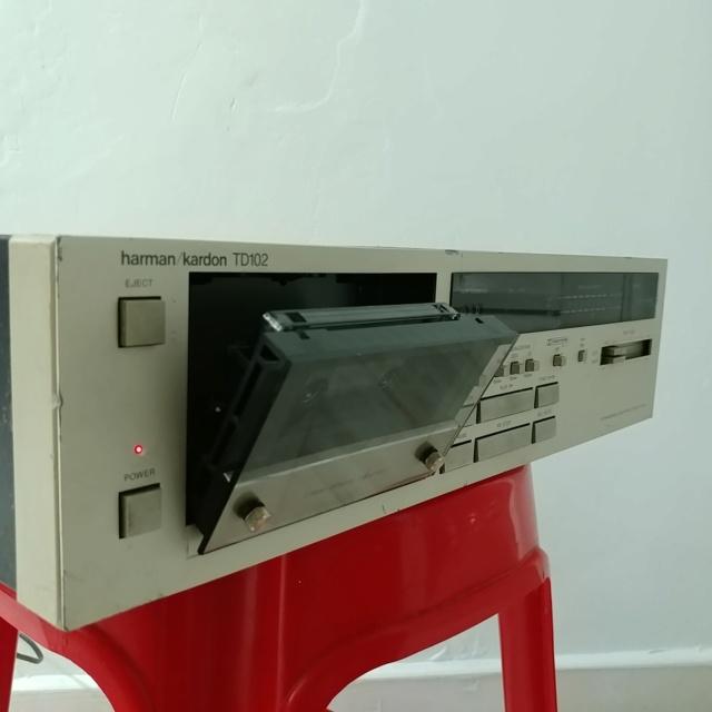 Harman Kardon TD-102 Ultrawideband Linear Phase Cassette Deck Player 20210461