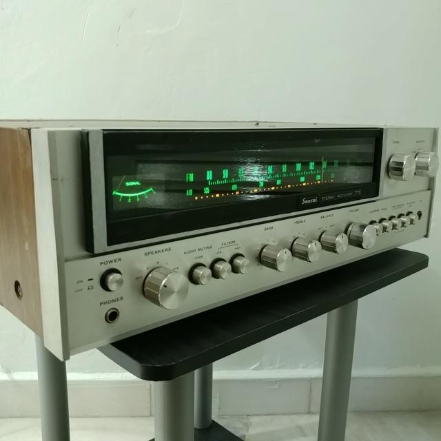 Sansui 771 Stereo FM Receiver amplifier 20210915