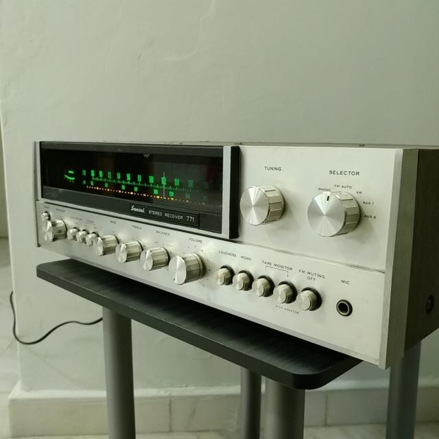Sansui 771 Stereo FM Receiver amplifier 20210916