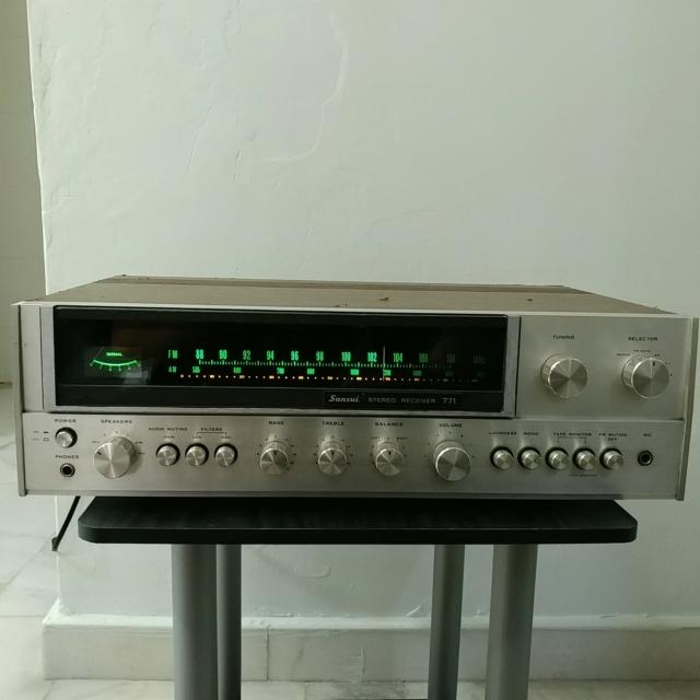 Sansui 771 Stereo FM Receiver amplifier 20210917