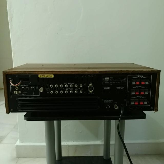 Sansui 771 Stereo FM Receiver amplifier 20210918