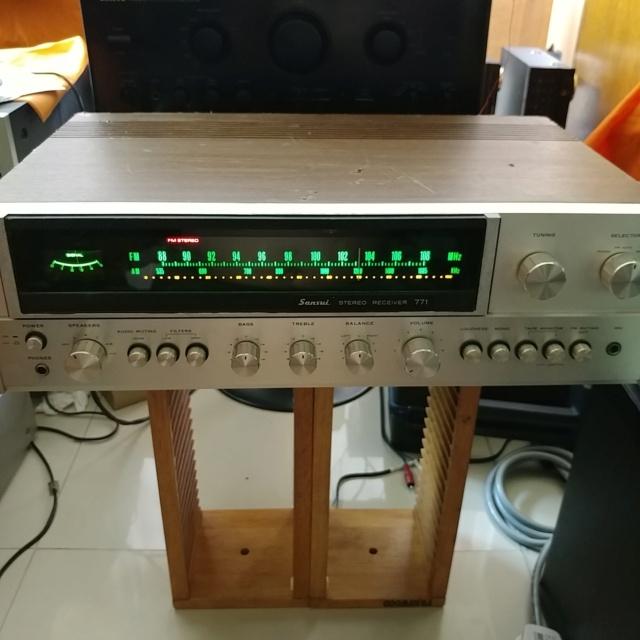 Sansui 771 Stereo FM Receiver amplifier 20210919