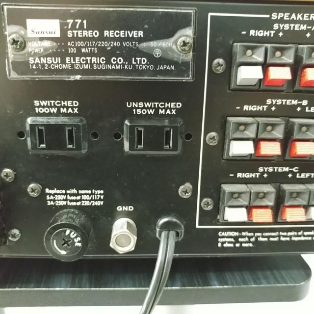 Sansui 771 Stereo FM Receiver amplifier 20210920