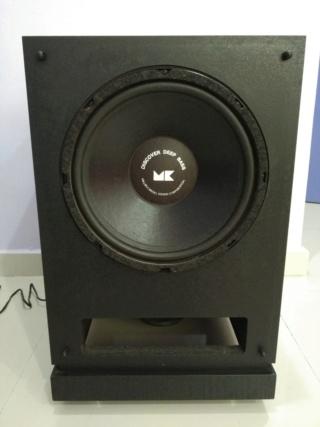 M&K MILLER & KREISEL MX-80 Powered Subwoofer Push-pull DUAL 12 inch Img_2115