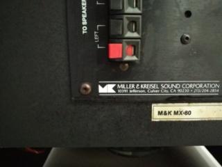 M&K MILLER & KREISEL MX-80 Powered Subwoofer Push-pull DUAL 12 inch Img_2118