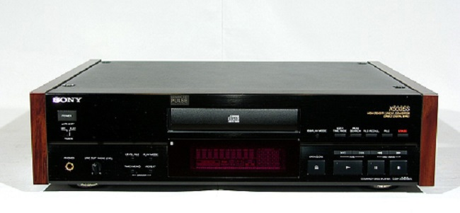 Sony CDP-715 Stereo CD player with remote Sony-c11