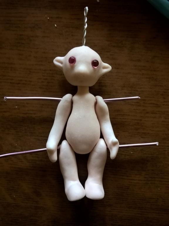 Crash Test poupée simple en porcelaine froide Wp_20121