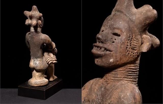 Igbo people, Ntekpe figure, Northeast Cross River, Nigeria 14tn2g10