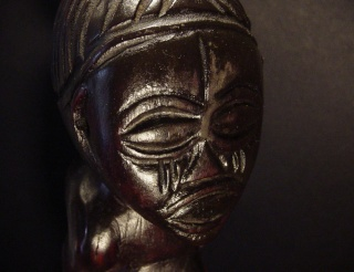 Chokwe people, Female Statue, Shinji Figure, Uruunda Region (Lower Congo/Angola) Chokwe16