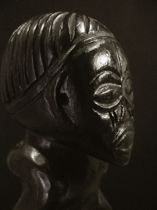 Chokwe people, Female Statue, Shinji Figure, Uruunda Region (Lower Congo/Angola) Chokwe19