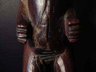 Chokwe people, Female Statue, Shinji Figure, Uruunda Region (Lower Congo/Angola) Dsc00111