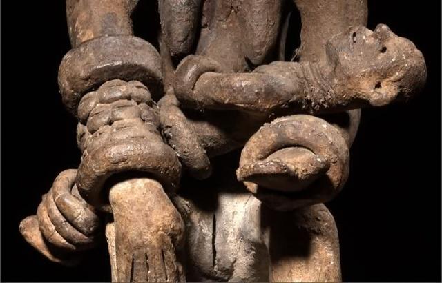 Igbo people, Ntekpe figure, Northeast Cross River, Nigeria Mufvj910