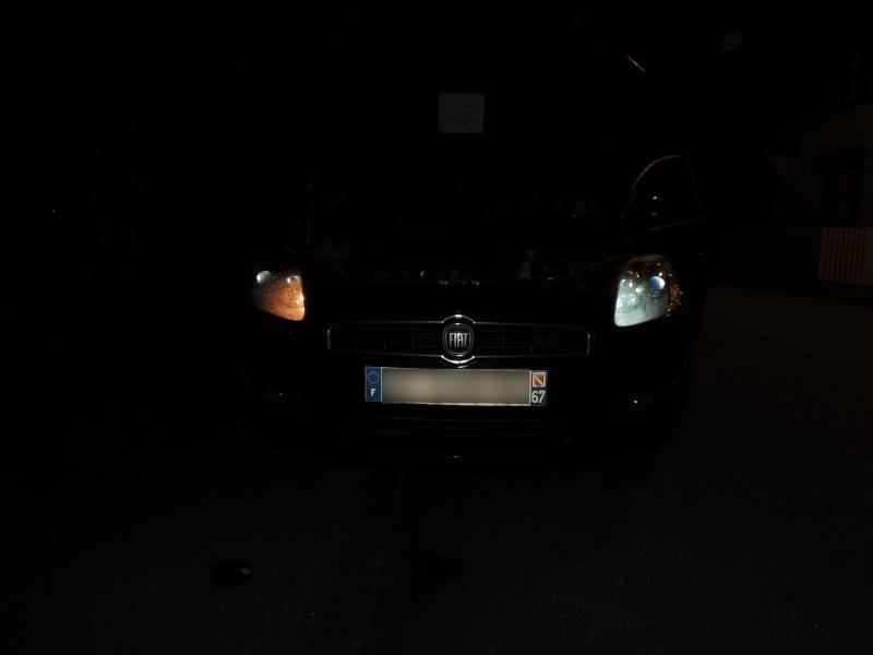 Ampoule LED et ampoule effet xenon bravo 2 Dscn5310