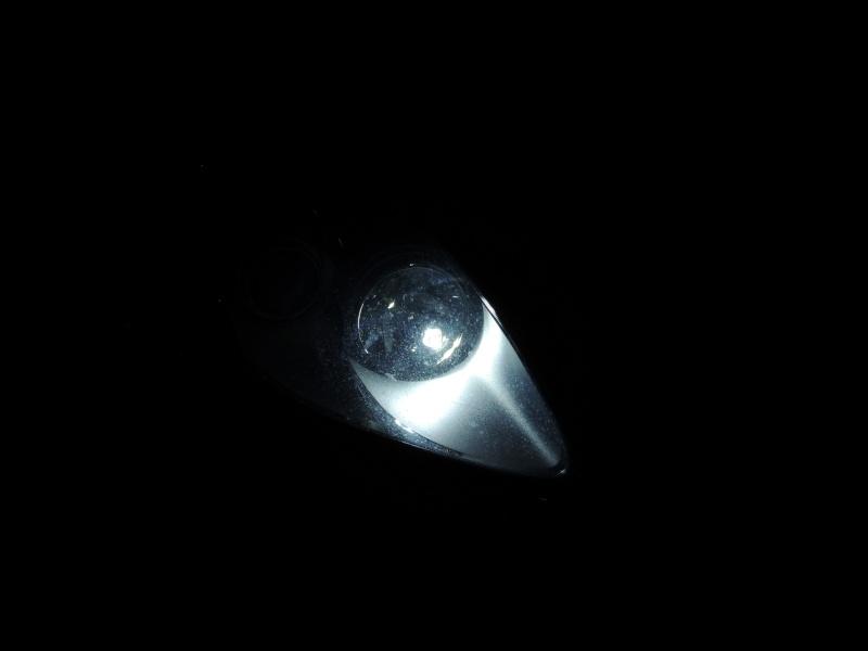 Ampoule LED et ampoule effet xenon bravo 2 Dscn5316