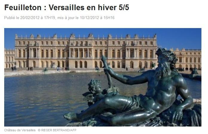 """Feuilleton du 13 h de France2 """"Versailles en hiver""""(02/2012) Captur10"""