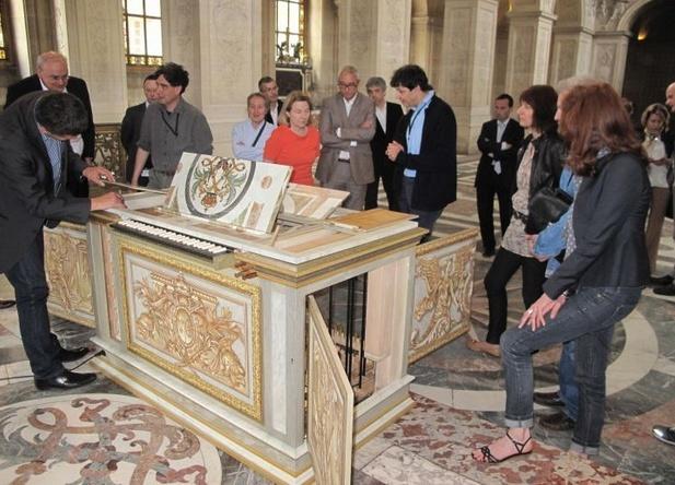 Orgues du facteur Blumenroeder pour le château de Versailles Captur53