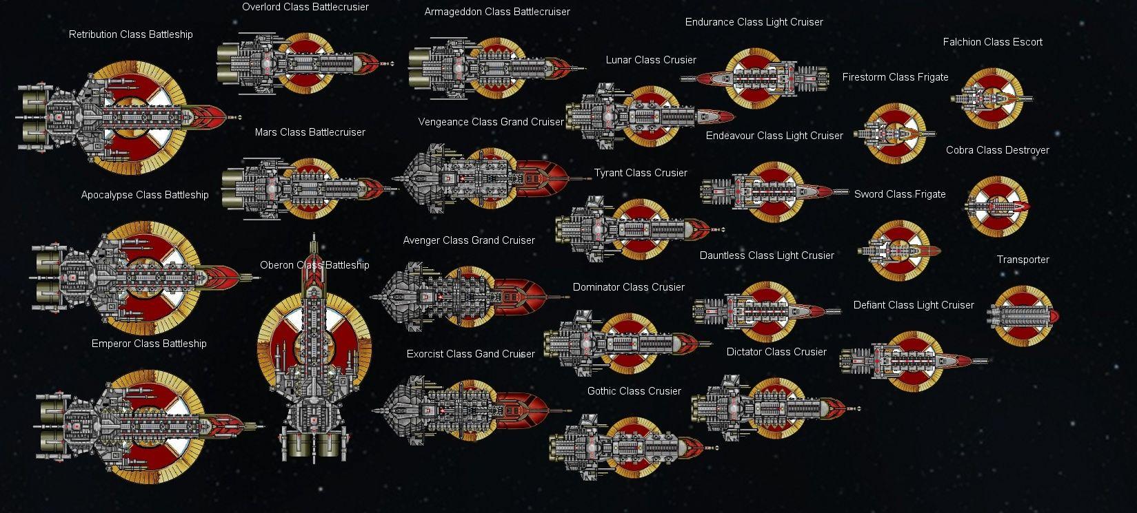 Battlefleet Gothic Papier Pour les débutants et les Nouveaux Joueurs Imperi10