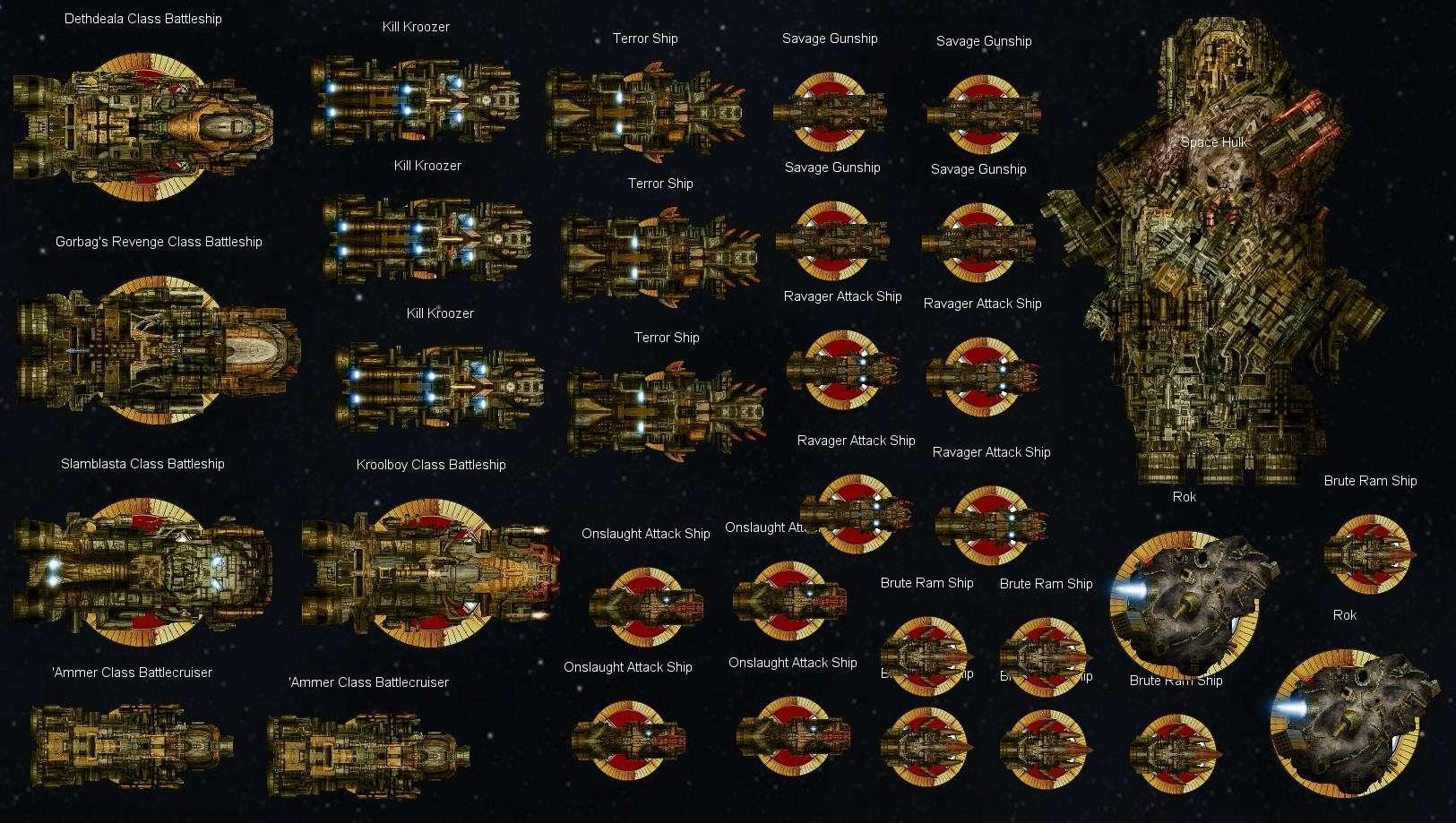 Battlefleet Gothic Papier Pour les débutants et les Nouveaux Joueurs Ork_fl12