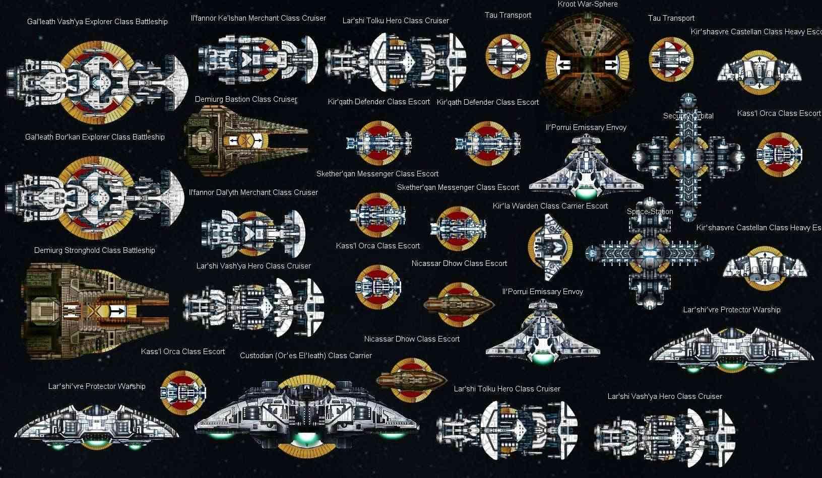 Battlefleet Gothic Papier Pour les débutants et les Nouveaux Joueurs Tau_fl12