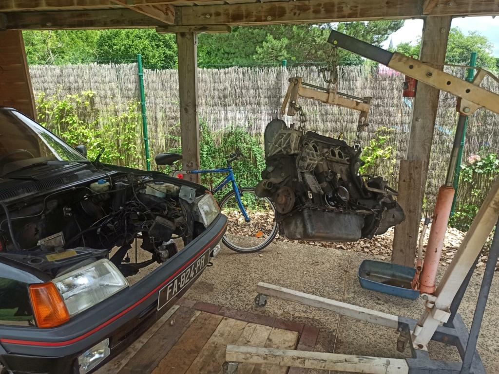 rénovation moteur GTI 1.6 115CV 205mot11