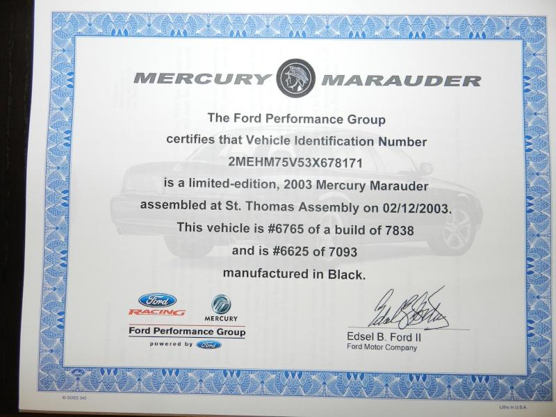 2003 MERCURY MARAUDER Photo11