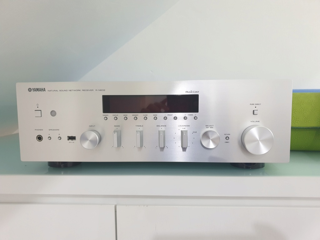 Sold Yamaha network receiver R-N602 20200510