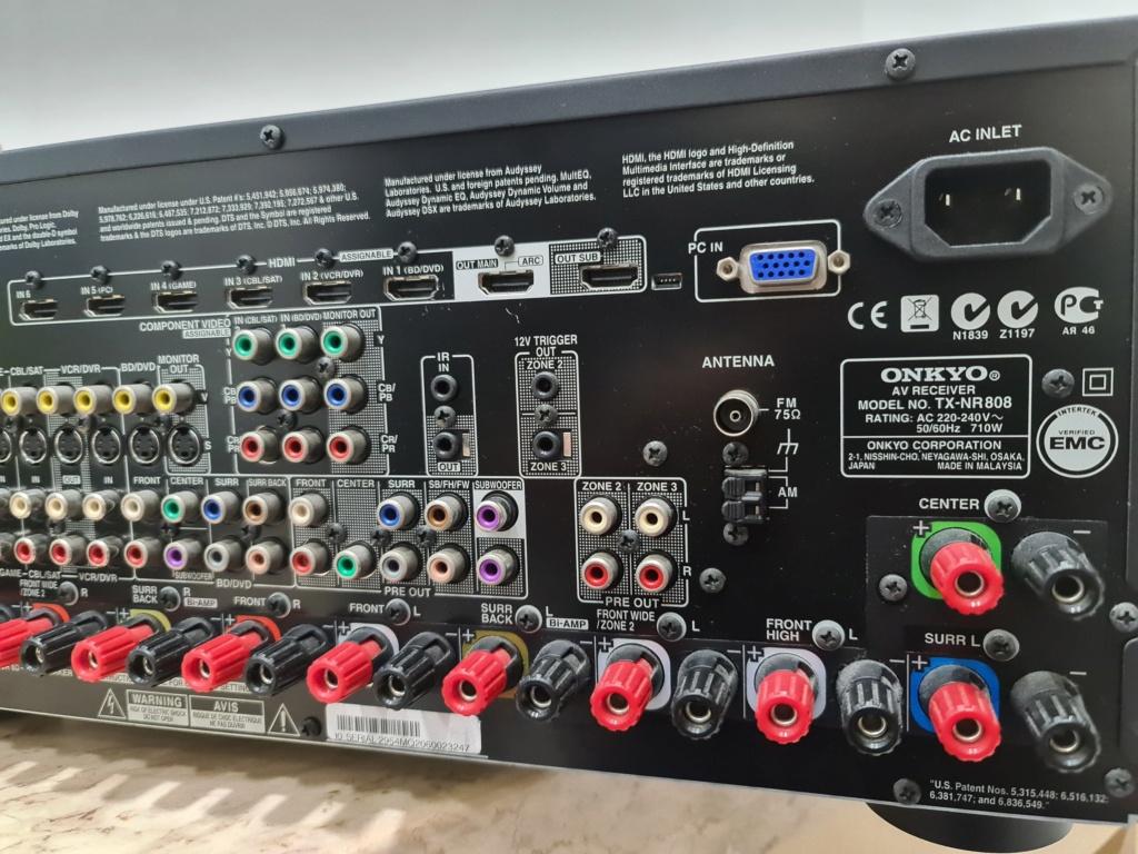 Onkyo tx-nr808 av receiver 20201011