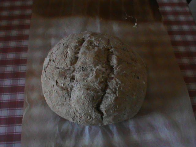 Aujourd'hui j'ai fait mon pain. Dsc00112