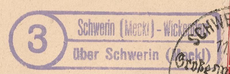 1945 - Deutschland  -  Landpoststempel (Poststellenstempel) Scanne12