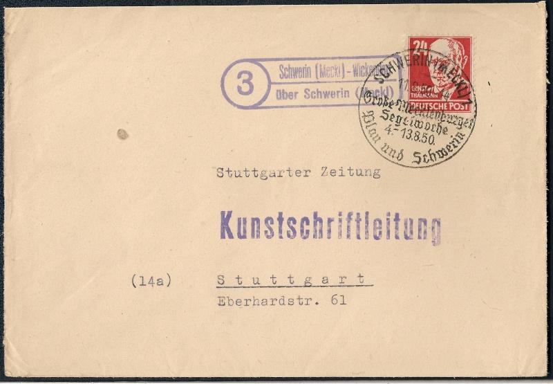 1945 - Deutschland  -  Landpoststempel (Poststellenstempel) Scanne13