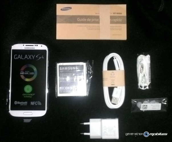 [INFO] Packaging du Samsung Galaxy S4 White Frost Image013