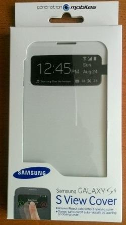 [ACCESSOIRE] S-View Cover Officielle pour le Samsung Galaxy S4 Image016