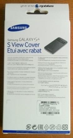[ACCESSOIRE] S-View Cover Officielle pour le Samsung Galaxy S4 Image017