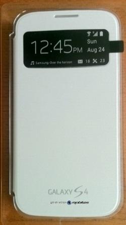[ACCESSOIRE] S-View Cover Officielle pour le Samsung Galaxy S4 Image018