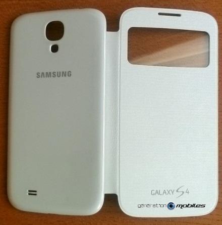[ACCESSOIRE] S-View Cover Officielle pour le Samsung Galaxy S4 Image019