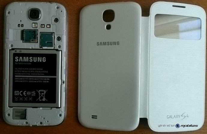 [ACCESSOIRE] S-View Cover Officielle pour le Samsung Galaxy S4 Image020